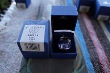 SWAROVSKI NIRVANA TANZANITE RING (SIZE 52) (892208) AUTHENTIC