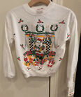 VINTAGE New Ugly Christmas Sweater Sweatshirt Youth Size 10 Made In USA