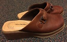 Pre-Owned Tom McAn Poron 4000 Lifetime Comfort Shoes Brown Size 8,5