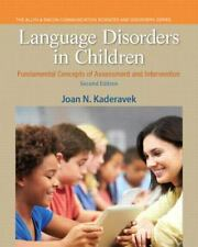 Language Disorders in Children: Fundamental Concepts of Assessment and Interven
