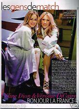 Coupure de Presse Clipping 2012 (1 page) Céline Dion et Véronic DiCaire