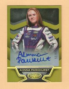 2016 Certified Racing Certified Potential Signatures Ahnna Parkhurst #19/25