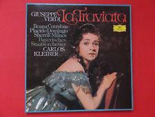 LA TRAVIATA Verdi Domingo, Cotrubas, Milnes 1977 Polydor , neuwertig 2 LPs <<<