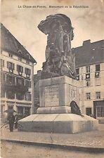 B4928 La Chaux-de-Fonds Monument de la Republique  front/back scan