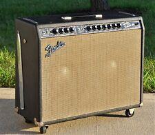 VTG (1966) Fender Blackface AB763 Twin Reverb Amplifier w/ JBL D120F Speakers ++