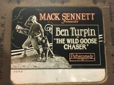 Ben Turpin Extremely Rare Original Movie Magic Lantern Slide 1925 Max Sennett