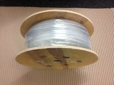 Gym Cable Wire Rope 4mm clear nylon coated to 5mm 100 metre reel Q260