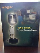 YOGA EMU-868U DYNAMIC USB MICROPHONE PROFESSIONAL STUDIO DESKTOP P.C./APPLE