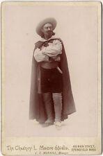 ACTOR 1880s SPRINGFIELD, MASSACHUSETTS CABINET PHOTO