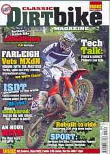 CLASSIC DIRT BIKE-No.25-(NEW COPY) *Post included to UK/Europe/USA/Canada