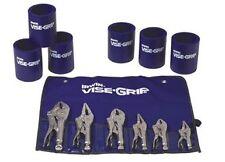 Irwin Vise Grip 6 Piece Locking Plier Set with Kit Bag and 6 Free Koozies - NIB
