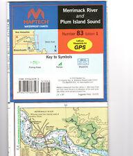 Maptech Waterproof Chart Number 83 Edition 1 Merrimac River & Plum Island Sound