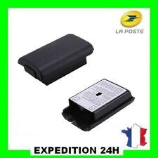 Cache Pile Noir pour manette Xbox 360 - Boîtier, Couvercle Batterie Top Qualité