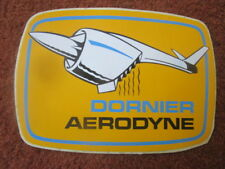 AUTOCOLLANT STICKER AUFKLEBER DORNIER AERODYNE