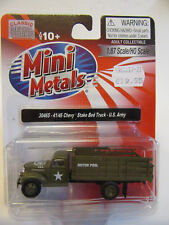 Classic Metal Works  USA 1:87   Chevrolet Army Stakebed  Fertigmodell