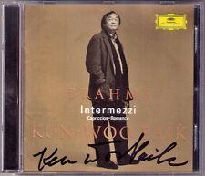 Kun-Woo PAIK Signiert BRAHMS Intermezzi Capriccios Romance from Klavierstücke CD