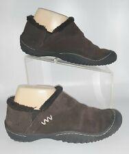 J-41 Womens Shoes Jambu Size 8.5 Memphis Loafer Brown Leather Upper Plush Edging