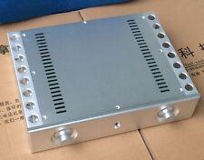 Aluminum CNC Chassis Heatsink Amplifier Enclosure DIY Audio Case Cabinet Box