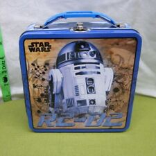 R2-D2 retro droid square Star Wars lunchbox Tin Box Company sci-fi throwback
