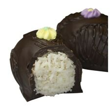 Philadelphia Candies, Coconut Easter Egg, Dark Chocolate, 8 Ounce Gift Box