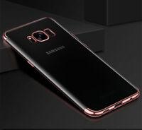 For Samsung Galaxy S9 Plus Luxury Ultra-thin Slim Clear Soft TPU Gel Case Cover