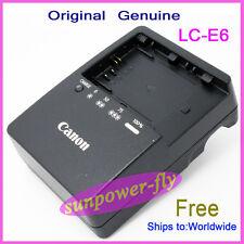 Genuine Original Canon LC-E6 LC-E6E Charger LP-E6 LP-E6N EOS 7D 60D 5D Mark II