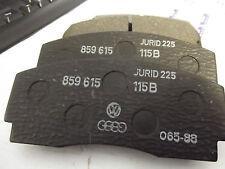 orig AUDI Bremsbelagsatz Scheibenbremse AUDI 100, 200, Quattro, Coupe, Cabrio