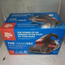 New: Dirt Devil HandVac Vacuum Model SD12000FDI