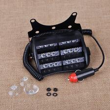 18 LED 12V Car Auto Dash Windshield Emergency Warning Strobe Flash Light Lamp