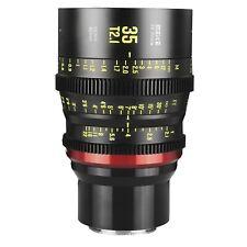 OPEN BOX Meike 35mm T2.1 Full Frame Cinema Lens Sony E Mount - Ships FAST USA