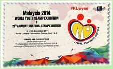 Malaysia 2014 WYSE Post Card ~ Mint