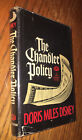 SIGNED The Chandler Policy  By Doris Miles Disney Hardcover 1971 First Edition