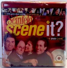 Seinfeld Scene It? Dvd Trivia Game *Factory Sealed* Mattel 2008 in Collector Tin