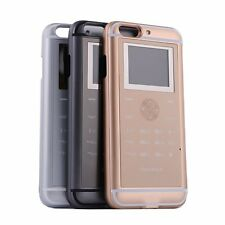 Mini Dual SIM Double Standby GSM Cellphone Case Back Cover Bundle Fr iPhone 6 6S
