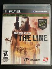 Spec Ops: The Line (Sony PlayStation 3, 2012) PS3 Complete w/Manual CIB