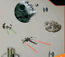 STAR WARS VII THE FORCE AWAKENS Spaceships wall stickers 21 decals room decor