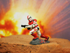 Hasbro Star Wars 1 32 Soldier Figure Coruscant Guard Elite Clone Shock Trooper Q