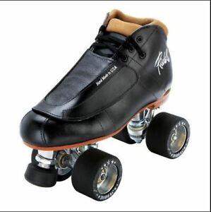 Riedell 965 Minx Skate D/B w Triton Plate Zodiac Wheels Derby NEW FREE POST