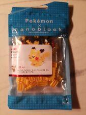 New Sealed Pikachu Pokemon Nanoblock Micro Sized Building Block Construction!