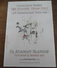 More details for frightened rabbit live music show march 2018 promotional tour concert gig poster