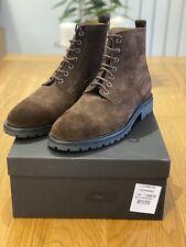 Belstaff Mens New Alperton Boots Brown Size 10