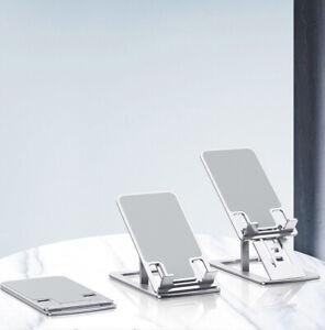 Adjustable Phone Stand Folding Ultra-thin Aluminum Alloy Phone Holders Portable