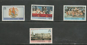 ANGILLA 1978 CORONATION SET SET, MNH