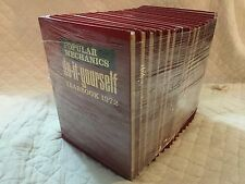 1968 Popular Mechanics Do It Yourself Encyclopedia 1-15 Set & 2 Yearbooks 70-72