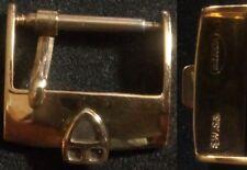 Original Vintage Tudor Buckle Fibbia 16mm inner Rose Gold Plated ! ! L@@K ! !