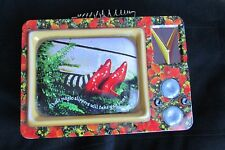 Magic Slippers will Take you Home Large Wizard of Oz TV Tin Tote Lunchbox #71296
