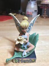 Disney Showcase Jim Shore Tinkerbell March Birthstone Figurine Enesco