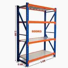 2M New Heavy Duty Warehouse Garage Metal Steel Storage Shelving Racking Rack