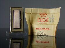Très rare briquet lighter chimique à mousse de platine DUCAT