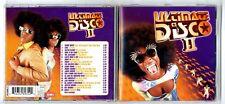 CD ★ ULTIMATE DISCO II 2 - COMPILATION VARIOUS ARTISTS  ★ 20 TITRES ALBUM 2000 ★